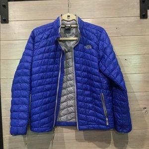 Boys north face down jacket